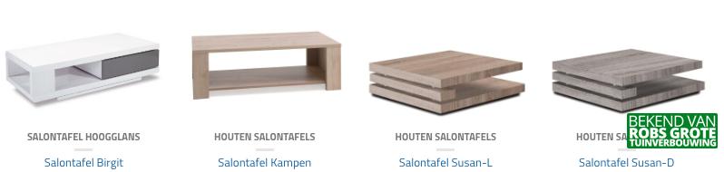Houten Salontafels